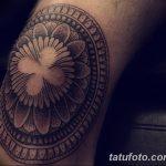 фото Тату на колене от 05.06.2018 №037 - Tattoo on the knee - tatufoto.com