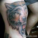 фото Тату на колене от 05.06.2018 №043 - Tattoo on the knee - tatufoto.com