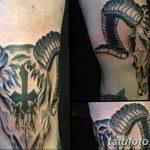 фото Тату на колене от 05.06.2018 №045 - Tattoo on the knee - tatufoto.com