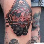 фото Тату на колене от 05.06.2018 №050 - Tattoo on the knee - tatufoto.com