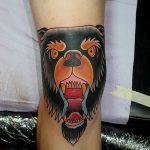фото Тату на колене от 05.06.2018 №051 - Tattoo on the knee - tatufoto.com