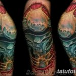 фото Тату на колене от 05.06.2018 №063 - Tattoo on the knee - tatufoto.com