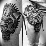 фото Тату на колене от 05.06.2018 №064 - Tattoo on the knee - tatufoto.com