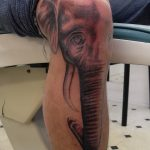 фото Тату на колене от 05.06.2018 №066 - Tattoo on the knee - tatufoto.com