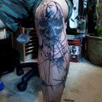 фото Тату на колене от 05.06.2018 №069 - Tattoo on the knee - tatufoto.com
