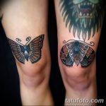 фото Тату на колене от 05.06.2018 №072 - Tattoo on the knee - tatufoto.com