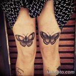 фото Тату на колене от 05.06.2018 №073 - Tattoo on the knee - tatufoto.com