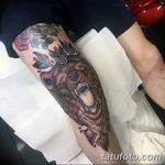 фото Тату на колене от 05.06.2018 №075 - Tattoo on the knee - tatufoto.com