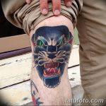фото Тату на колене от 05.06.2018 №081 - Tattoo on the knee - tatufoto.com