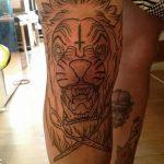 фото Тату на колене от 05.06.2018 №083 - Tattoo on the knee - tatufoto.com