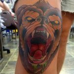 фото Тату на колене от 05.06.2018 №090 - Tattoo on the knee - tatufoto.com