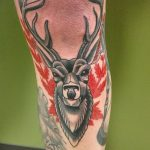 фото Тату на колене от 05.06.2018 №100 - Tattoo on the knee - tatufoto.com