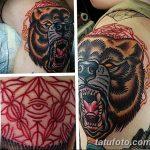 фото Тату на колене от 05.06.2018 №106 - Tattoo on the knee - tatufoto.com