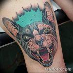 фото Тату на колене от 05.06.2018 №118 - Tattoo on the knee - tatufoto.com
