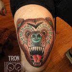 фото Тату на колене от 05.06.2018 №122 - Tattoo on the knee - tatufoto.com
