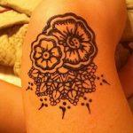 фото Тату на колене от 05.06.2018 №123 - Tattoo on the knee - tatufoto.com