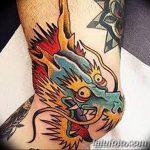 фото Тату на колене от 05.06.2018 №124 - Tattoo on the knee - tatufoto.com
