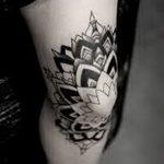 фото Тату на колене от 05.06.2018 №127 - Tattoo on the knee - tatufoto.com