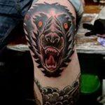 фото Тату на колене от 05.06.2018 №128 - Tattoo on the knee - tatufoto.com