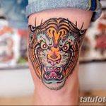 фото Тату на колене от 05.06.2018 №140 - Tattoo on the knee - tatufoto.com