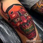 фото Тату на колене от 05.06.2018 №144 - Tattoo on the knee - tatufoto.com