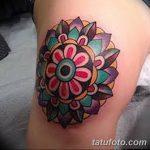 фото Тату на колене от 05.06.2018 №150 - Tattoo on the knee - tatufoto.com