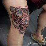 фото Тату на колене от 05.06.2018 №154 - Tattoo on the knee - tatufoto.com