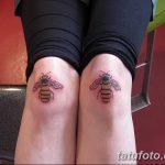 фото Тату на колене от 05.06.2018 №156 - Tattoo on the knee - tatufoto.com