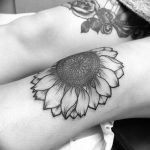 фото Тату на колене от 05.06.2018 №158 - Tattoo on the knee - tatufoto.com