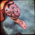 фото Тату на колене от 05.06.2018 №163 - Tattoo on the knee - tatufoto.com