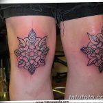 фото Тату на колене от 05.06.2018 №172 - Tattoo on the knee - tatufoto.com