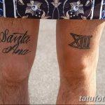 фото Тату на колене от 05.06.2018 №174 - Tattoo on the knee - tatufoto.com
