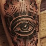 фото Тату на колене от 05.06.2018 №177 - Tattoo on the knee - tatufoto.com