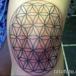 фото Тату на колене от 05.06.2018 №180 - Tattoo on the knee - tatufoto.com