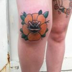 фото Тату на колене от 05.06.2018 №181 - Tattoo on the knee - tatufoto.com