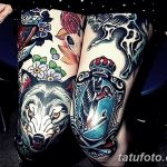 фото Тату на колене от 05.06.2018 №186 - Tattoo on the knee - tatufoto.com