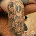 фото Тату на колене от 05.06.2018 №194 - Tattoo on the knee - tatufoto.com