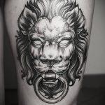 фото Тату на колене от 05.06.2018 №195 - Tattoo on the knee - tatufoto.com