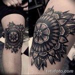 фото Тату на колене от 05.06.2018 №199 - Tattoo on the knee - tatufoto.com