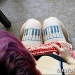 фото Тату на колене от 05.06.2018 №211 - Tattoo on the knee - tatufoto.com