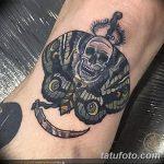 фото Тату на колене от 05.06.2018 №213 - Tattoo on the knee - tatufoto.com