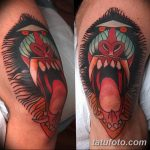 фото Тату на колене от 05.06.2018 №214 - Tattoo on the knee - tatufoto.com
