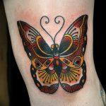 фото Тату на колене от 05.06.2018 №215 - Tattoo on the knee - tatufoto.com