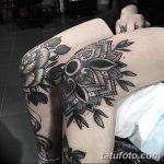 фото Тату на колене от 05.06.2018 №218 - Tattoo on the knee - tatufoto.com 234234