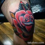фото Тату на колене от 05.06.2018 №221 - Tattoo on the knee - tatufoto.com