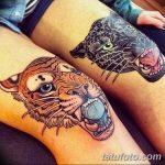 фото Тату на колене от 05.06.2018 №225 - Tattoo on the knee - tatufoto.com