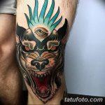 фото Тату на колене от 05.06.2018 №230 - Tattoo on the knee - tatufoto.com