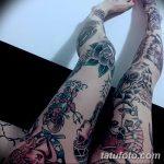 фото Тату на колене от 05.06.2018 №233 - Tattoo on the knee - tatufoto.com