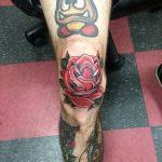 фото Тату на колене от 05.06.2018 №240 - Tattoo on the knee - tatufoto.com