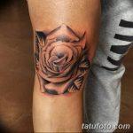 фото Тату на колене от 05.06.2018 №241 - Tattoo on the knee - tatufoto.com